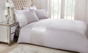 Parure de lit velours