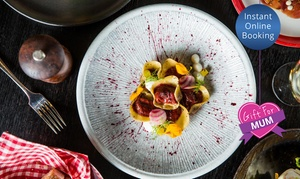 Sarti: Chef Hatted, CBD Three-Course Dinning Experience with Wine for 2 ($99), 4 ($196) or 6 ($292) at Sarti (Up to $576 Value)