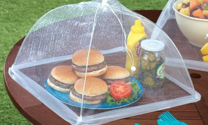 Mesh Screen Food Cover Tents (2-Pack) & Up To 50% Off on Mesh Screen Food Cover Tents | Groupon Goods