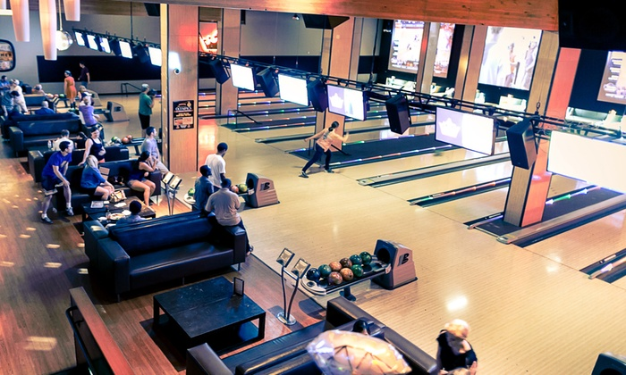 Grand Central Restaurant and Bowling Lounge - Grand Central Restaurant & Bowling Lounge: $32 for Bowling & Shoe Rental for Up to Four & Arcade Play at Grand Central Bowling Lounge ($62 Value)