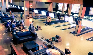 Grand Central Restaurant and Bowling Lounge: $32 for Bowling & Shoe Rental for Up to Four & Arcade Play at Grand Central Bowling Lounge ($62 Value)