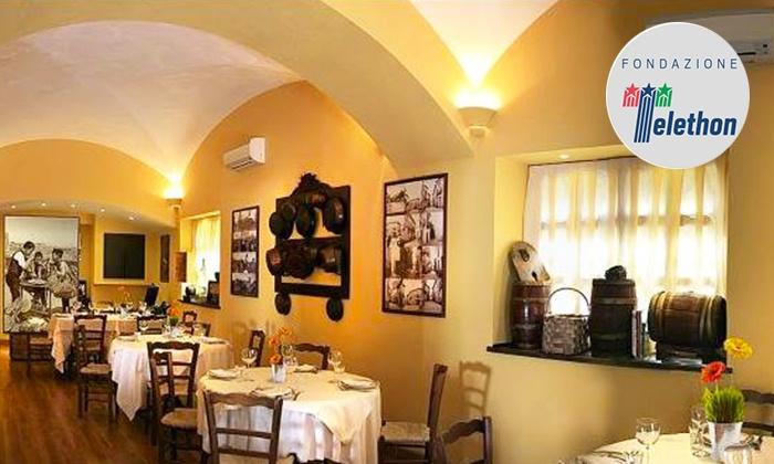 Tavernetta Marinella - TAVERNETTA MARINELLA: Tavernetta Marinella: menu con specialità irpine a basa di pasta fresca, maialino e salumi con vino (sconto fino a 54%)