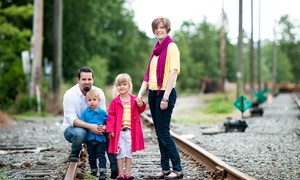 """Blue Olive Photography: CC$49 for a 45-Minute On-Location Photo Shoot with 8""""x12"""" Print from Blue Olive Photography (CC$345 Value)"""