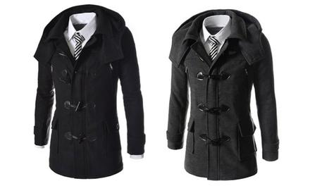 Duffle coat pour homme en laine, coloris et taille au choix, à 42,90€