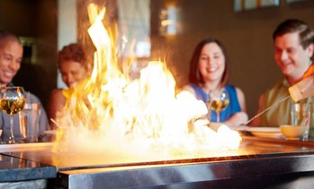 Up to 31% Off Hibachi Dinner at A-Aki Sushi & Steakhouse