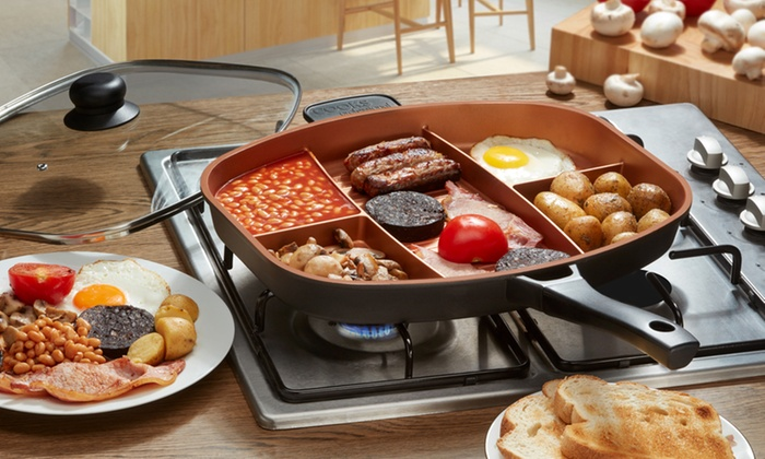 Up To 76 Off Cooks Professional Frying Pans Groupon