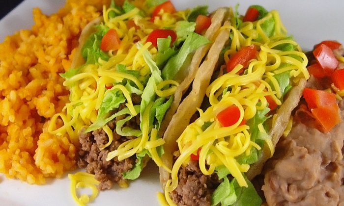 Tacos E Mas - Old Everett: $22 for Two Groupons, Each Good for $20 Worth of Mexican Food at Tacos E Mas ($40Total Value)