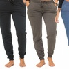 Coco Limon Solid Long Women's Joggers with Pockets (4-Pack)