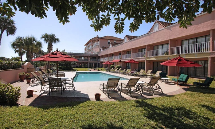 null - Dayton: Stay at The Inn at Cocoa Beach in Florida. Dates into September Available.