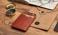 Wertgutschein über 29,99 € anrechenbar auf Kartenportemonnaies und Handyhüllen aus Leder von Vaultskin