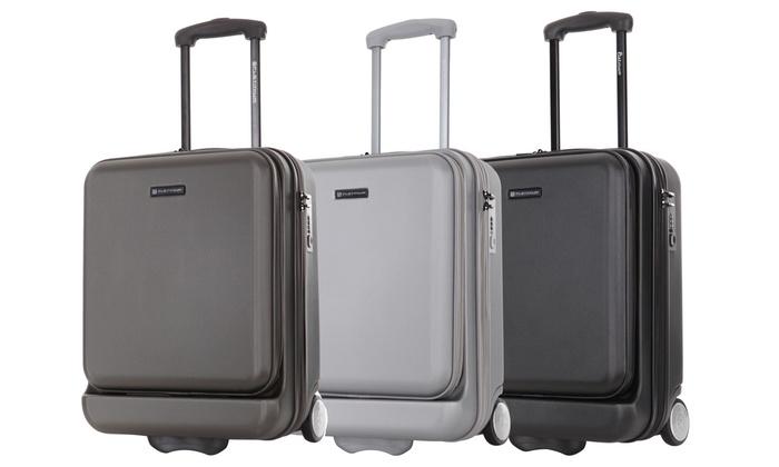 valise cabine en abs doncaster groupon. Black Bedroom Furniture Sets. Home Design Ideas