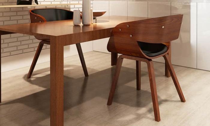 Houten meubels houten eetkamer set eettafel en stoelen houten