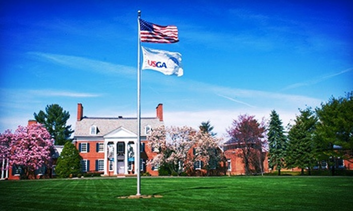USGA Golf Museum - Bernards: Admission for 2, 4, 6, or 10 to USGA Golf Museum with One Round on Pynes Putting Course (Up to 60% Off)