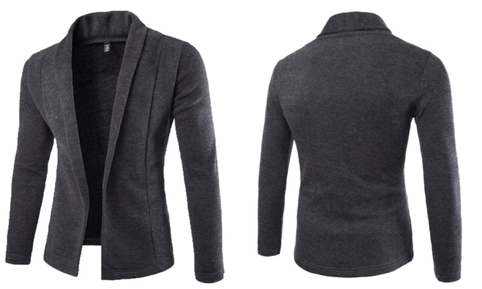 gilet style blazer pour homme groupon shopping. Black Bedroom Furniture Sets. Home Design Ideas