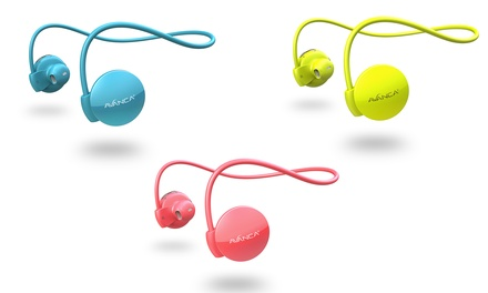 Auriculares deportivos Avanca S1 bluetooth con opción a brazalete deportivo