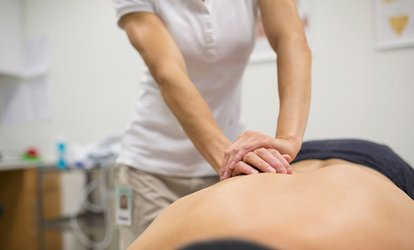 image for Physiotherapy Consultation with One Additional Treatment at Urmston Physio Clinic (73% Off)
