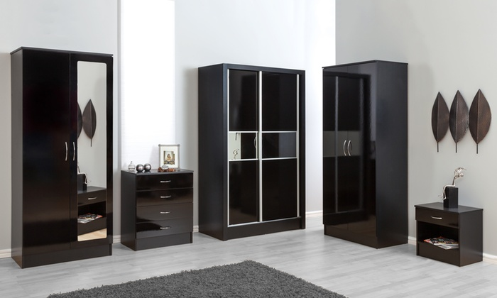 Alpha Gloss Wardrobe Collection from £79.99