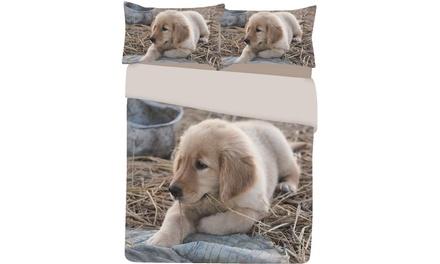 Completo lenzuola o trapunta disponibili in varie dimensioni e fantasie da 22,90 € (fino a 51% di sconto)