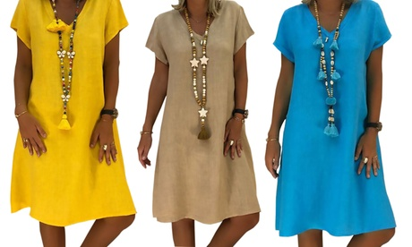 Vestidos veraniegos de colores vivos