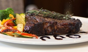Bertoua: Choice of Steak from R199 for Two with Optional Dessert at Bertoua