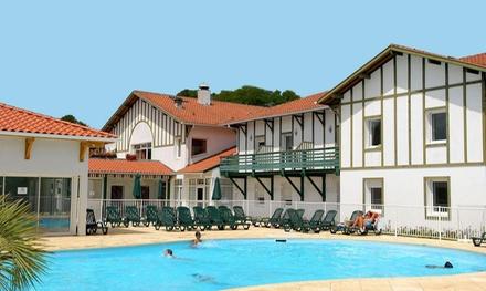 Landas: apartamento de 1 o 2 dormitorios para 4 o 6 personas con piscina, sauna y jacuzzi en Adonis Cassen