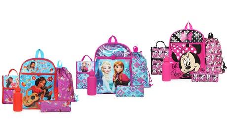 Kids' Travel Backpack Essentials Set (5-Piece)