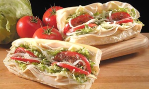 Jreck Subs: Sub Sandwiches for Two or Four at Jreck Subs (40% Off)