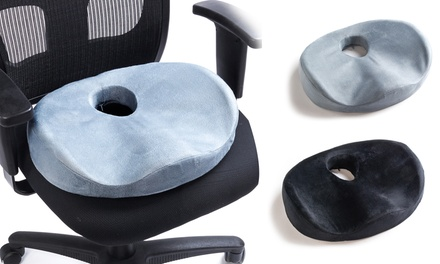 Black Mountain Products Memory-Foam Lumbar Seat Cushion