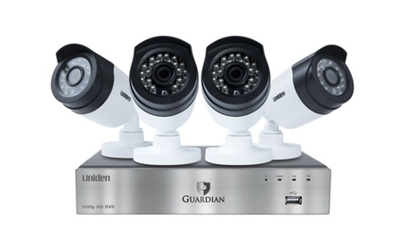 Uniden Guardian G6440D1 4-Channel Video Surveillance System (Manufacturer Refurbished) 198b1b88-ba6a-4d11-b1a7-3b273a01949e