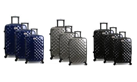 Set de 3 maletas de policarbonato de la marca Georges Rech, modelo Belfast