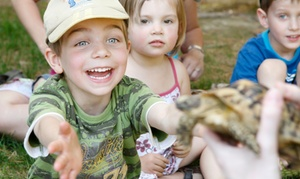 Éducazoo: Kids' Party or Admission for Two or Four to Éducazoo QC Animal Refuge (Up to 53% Off)