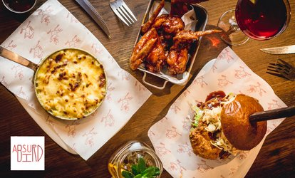 American-Inspired Two-Course Meal with Cocktail or Three-Course Meal at Absurd Bird (Up to 40% Off)