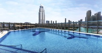 Weekday or Weekend Burj Club Pool Access for One at Rooftop, The Burj Club located at Burj Khalifa (Up to 34% Off)