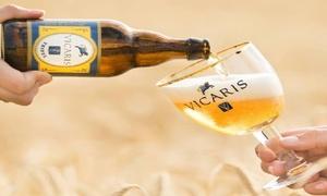 Brasserie Dilewyns: Visite en brasserie avec dégustation de bières et cadeau Vicarisà partir de 19,99€