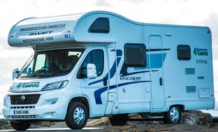 Luxury 7nt Luxury Motorhome Break Hire For 2 4 Or 6 From Living Social