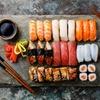 Menu sushi All you can eat con vino