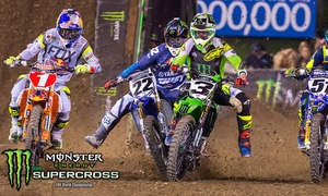 Up to 53% Off Monster Energy AMA Supercross at Monster Energy AMA Supercross, plus 6.0% Cash Back from Ebates.