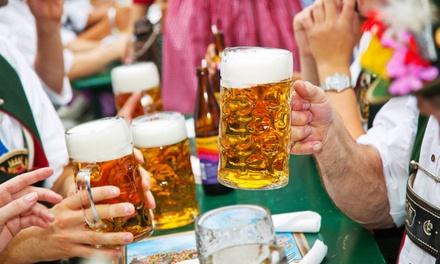 Tickets voor Oktoberfest Leeuwarden op zaterdag 20 oktober 2018, inclusief bierpul