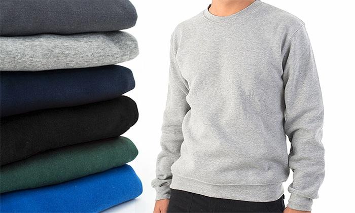 סיגל בגדי עבודה ופרסום - Merchandising (IL): סט 3 פוטרים אופנתיים לגבר עם צווארון עגול במגוון צבעים ומידות