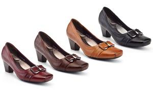 Rasolli Susan Women's Low-Heel Wide-Width Dress Shoes