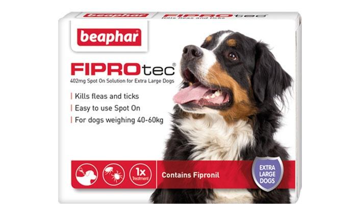 beaphar fiprotec flea treatment groupon goods. Black Bedroom Furniture Sets. Home Design Ideas