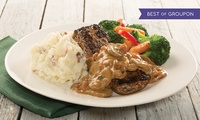 Steak or Fajita Platter with Sides and Fountain Drink Refills at All Applebees Locations in the UAE (Up to 58% Off)