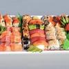 Big Sushi-Platte inkl. Miso-Suppe