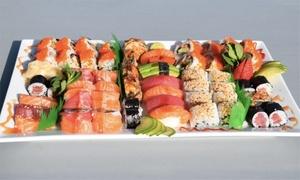 Sun Sushi: Big Sushi-Platte inkl. Miso-Suppe für 2 oder 4 Personen im Sun Sushi (bis zu 56% sparen*)