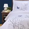Superior 100% Cotton Swallow-Print Duvet Cover Set (3-Piece)
