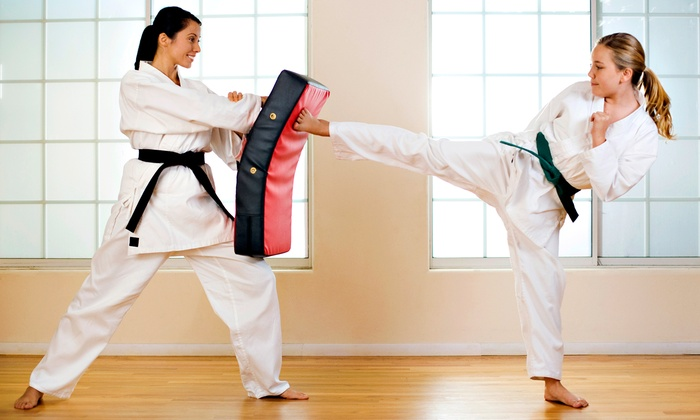 Iannuzzo's Karate & Kickboxing - Baldwinsville: One Month of Karate Classes or a Birthday Party for 15 at Iannuzzo's Karate & Kickboxing (Up to 67% Off)