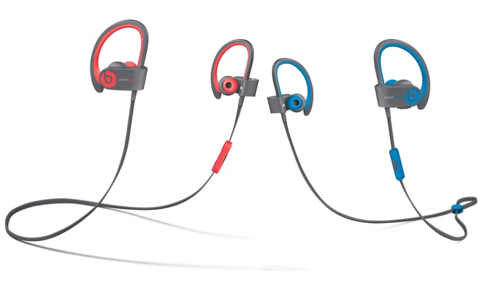 beats by dr  dre powerbeats 2 wireless headphones  refurb