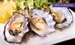 Eats on Lex: $39 for Two Dozen East Coast Blue Point Oysters and Two Martinis at Eats on Lex ($102 Value)
