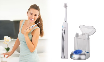 $39.95 for a Promedica Ultrasonic Toothbrush with a UV Sanitiser and Three Replacement Heads
