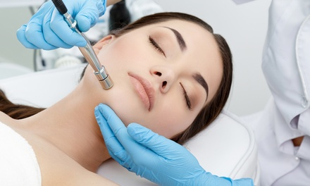 Microdermabrasion Session at Oh She Glows Advance Skin Rejuvenation and Facial Aesthetics